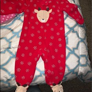 Little girl or boy raindeer outfit